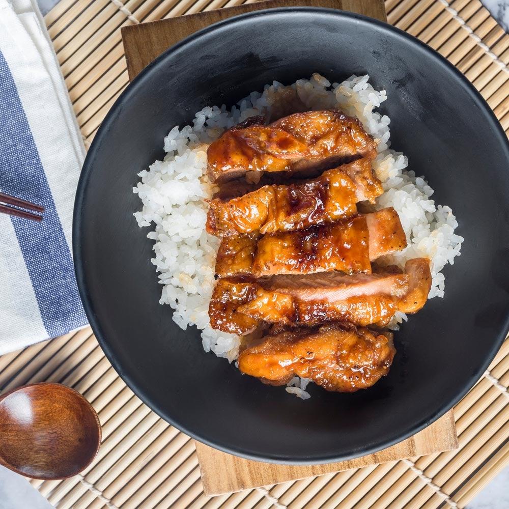 Poulet Teriyaki cuit au four