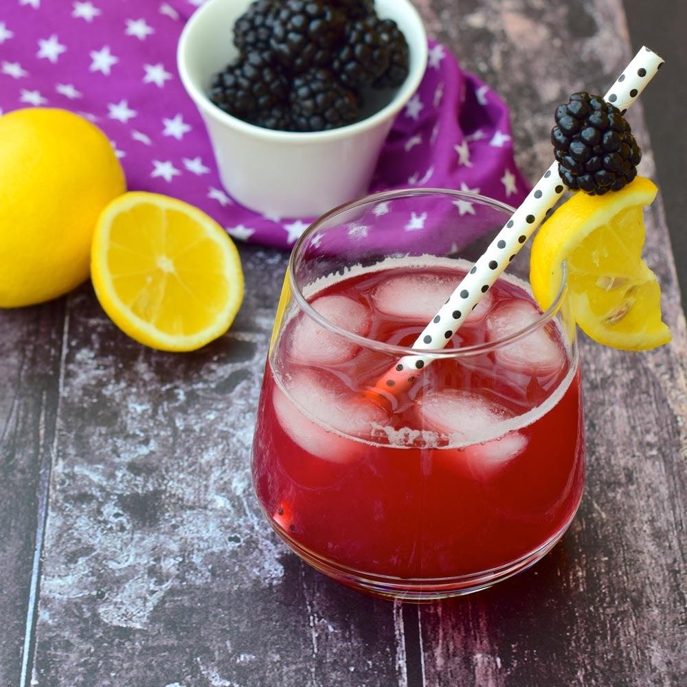 Blackberry Twist Limonade
