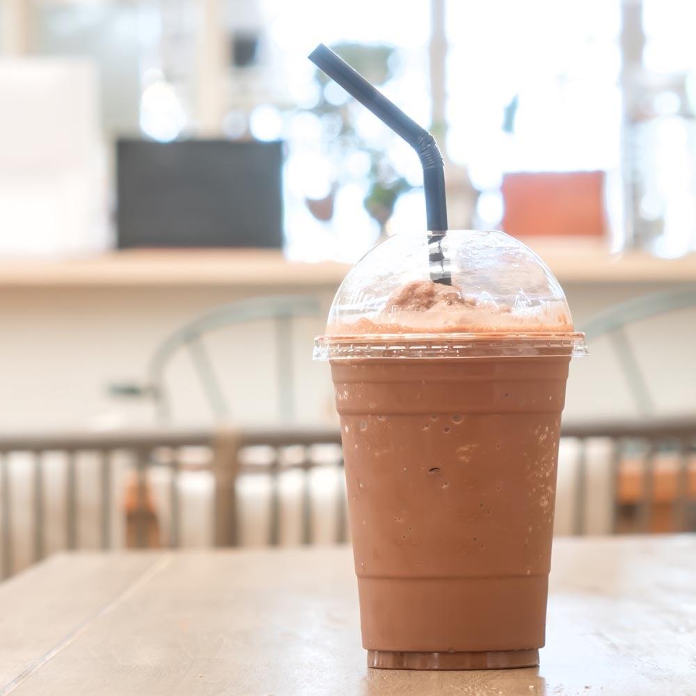 Café mélangé Frappe