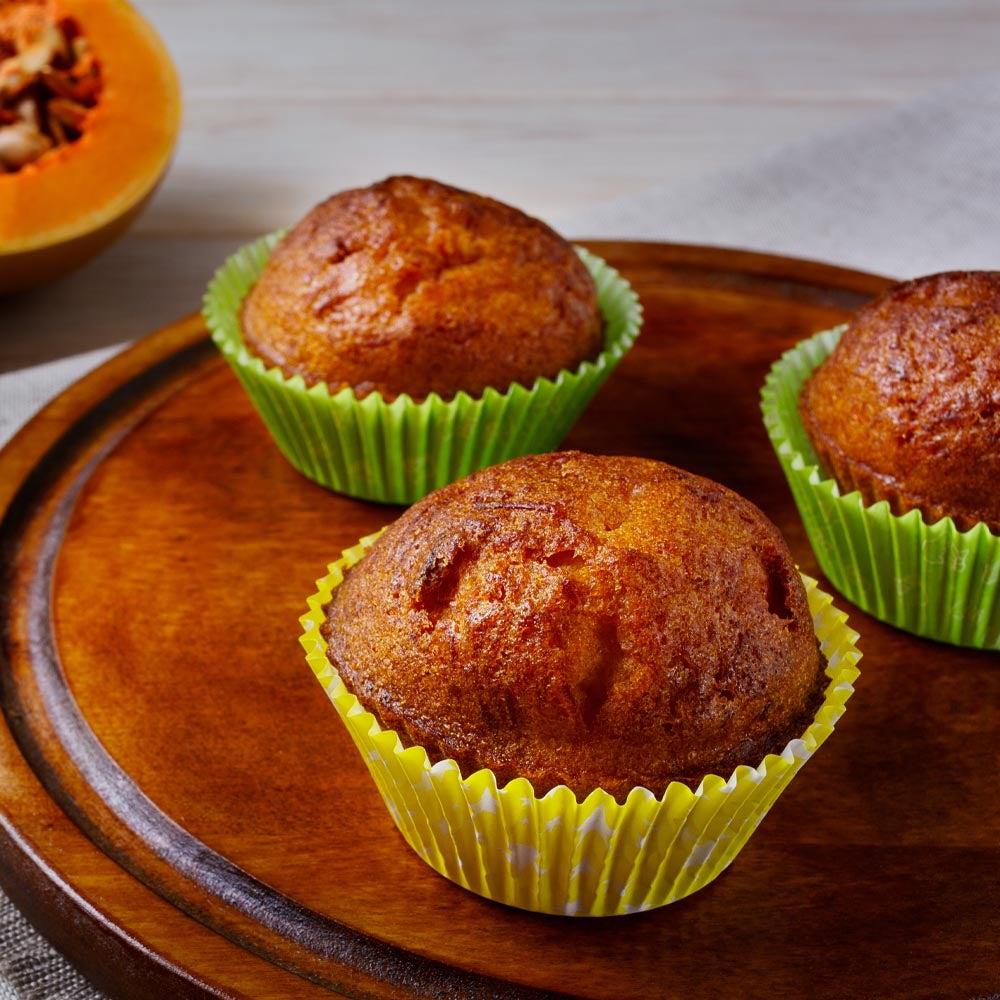 Muffins à la courge musquée