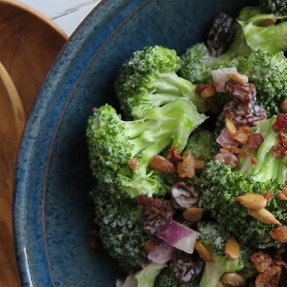 Salade de brocoli de Californie