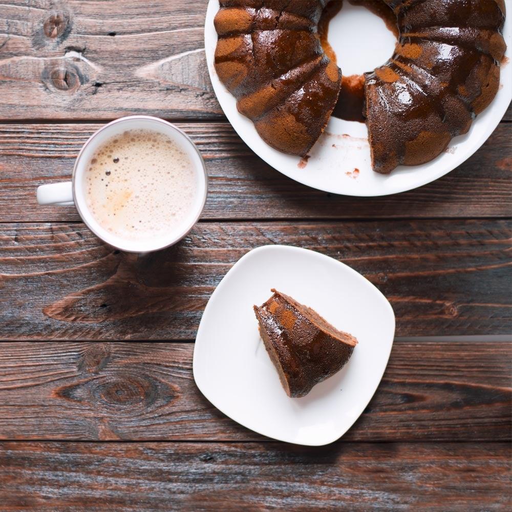 Gâteau Bundt au chocolat