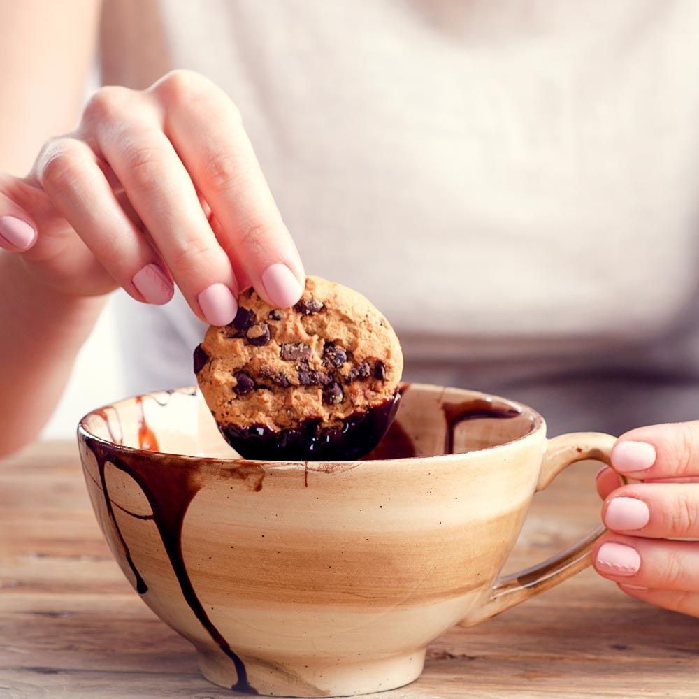 Biscuits au chocolat Dunk