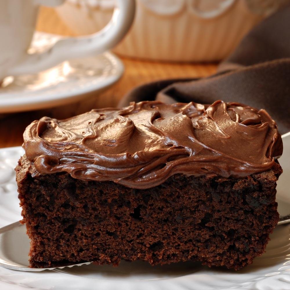 Glaçage à la crème sure au chocolat