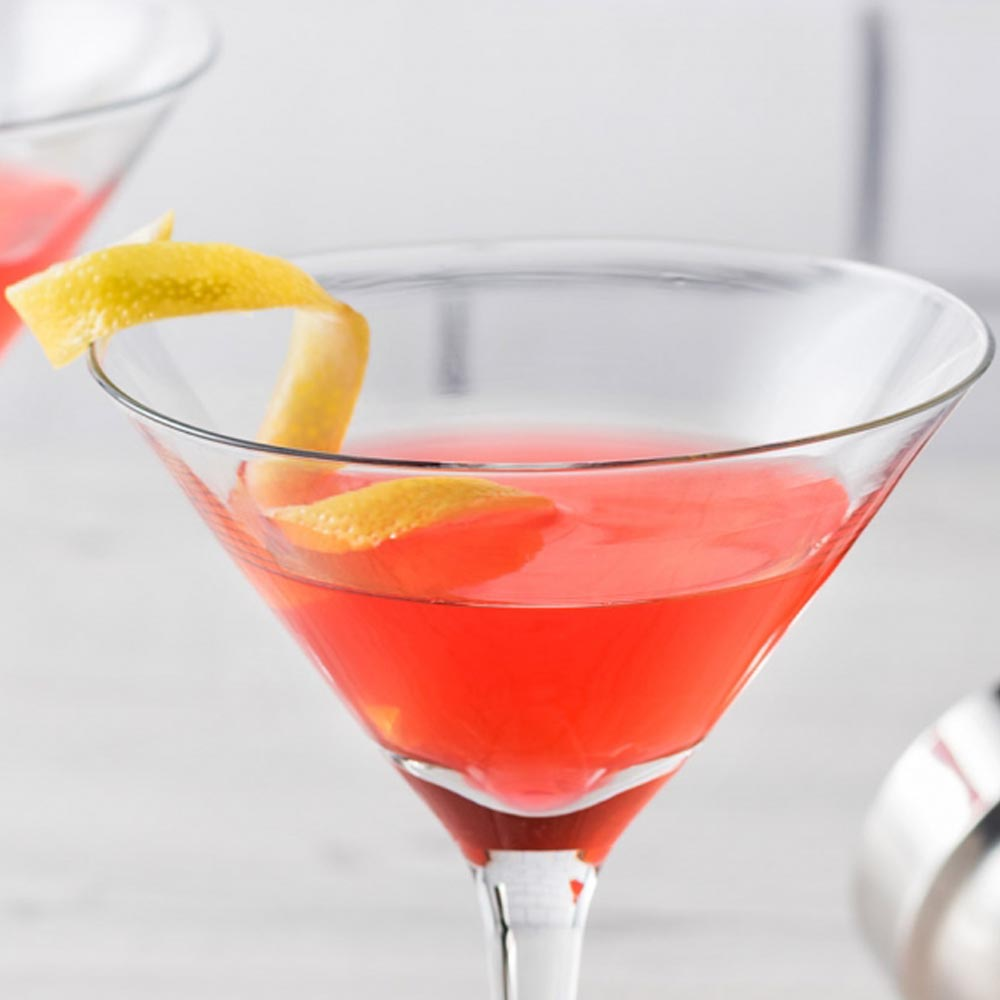 Cranberry Bees Knees Cocktail
