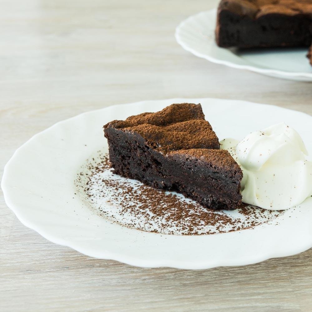 Torte aux noisettes au chocolat sans farine
