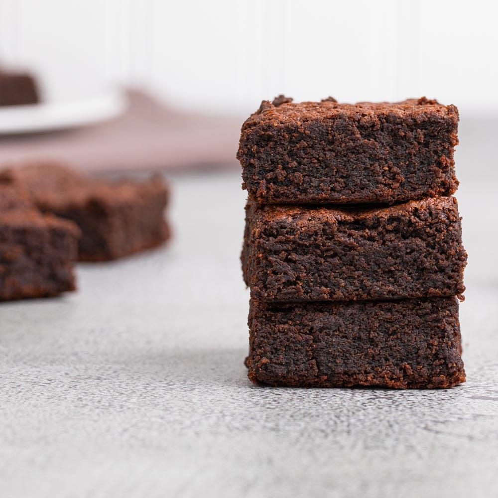 Brownies au fudge