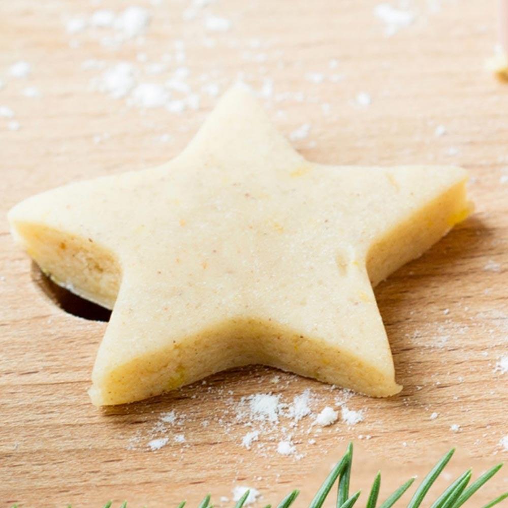 Biscuits découpés des Fêtes