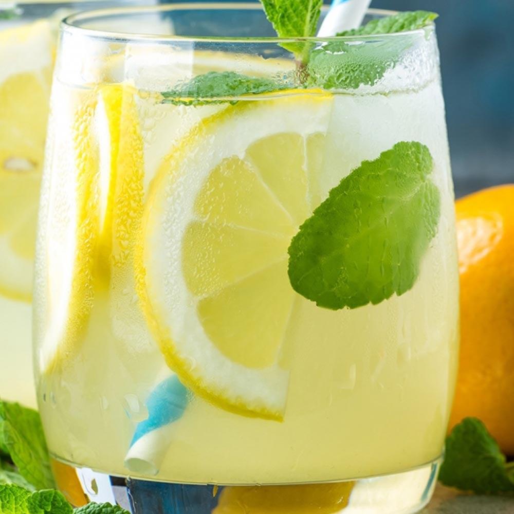Limonade à la menthe maison