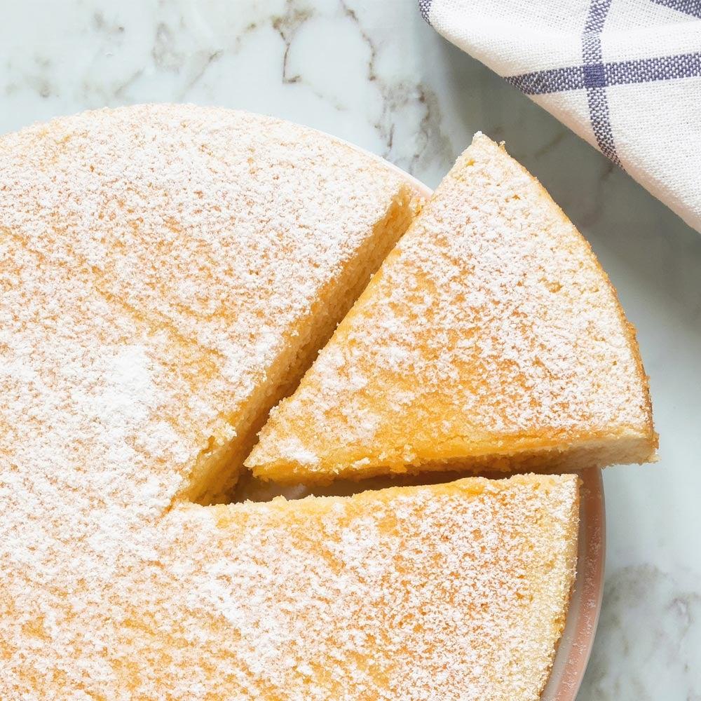 Irrésistible tarte à la mousseline de citron