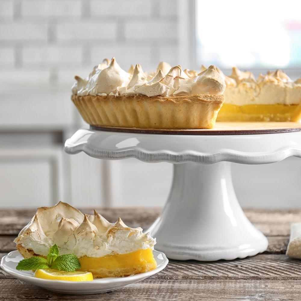 Haute tarte au citron meringuée