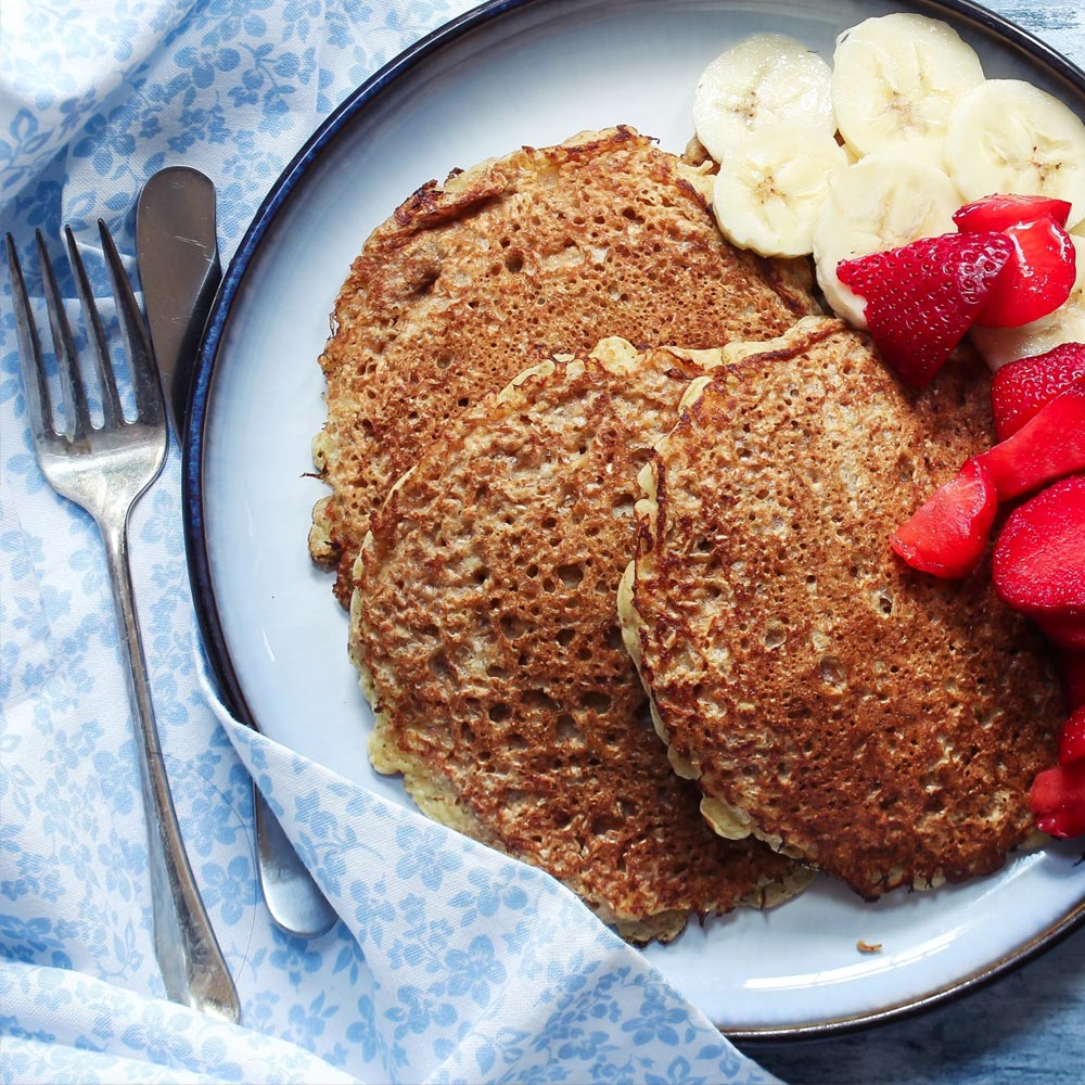 Make-Ahead Multigrain Pancake Mix