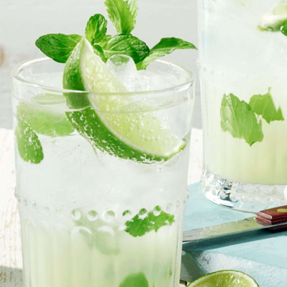 Miami-Fusion Mojito Mocktail