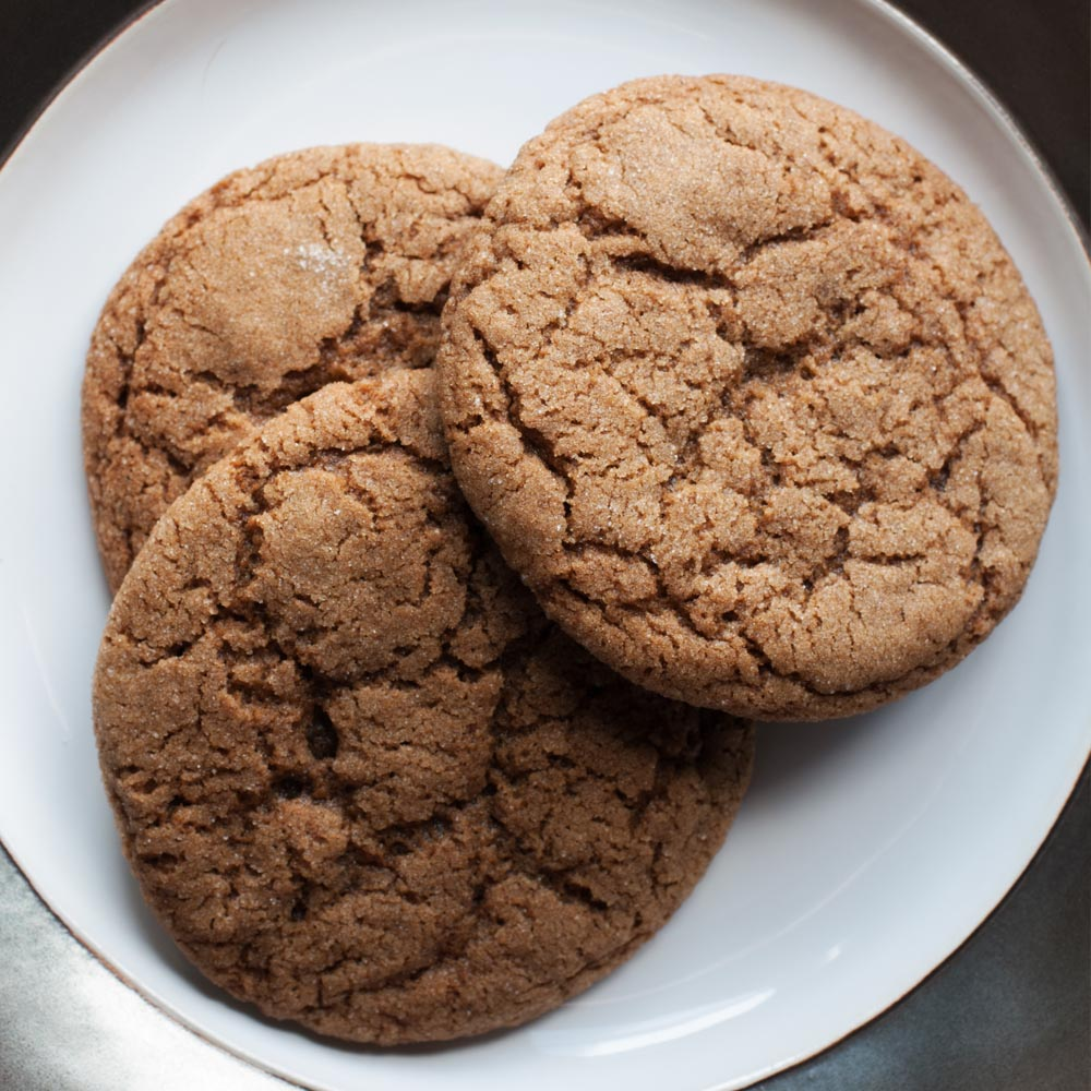 Cookies de mélasse