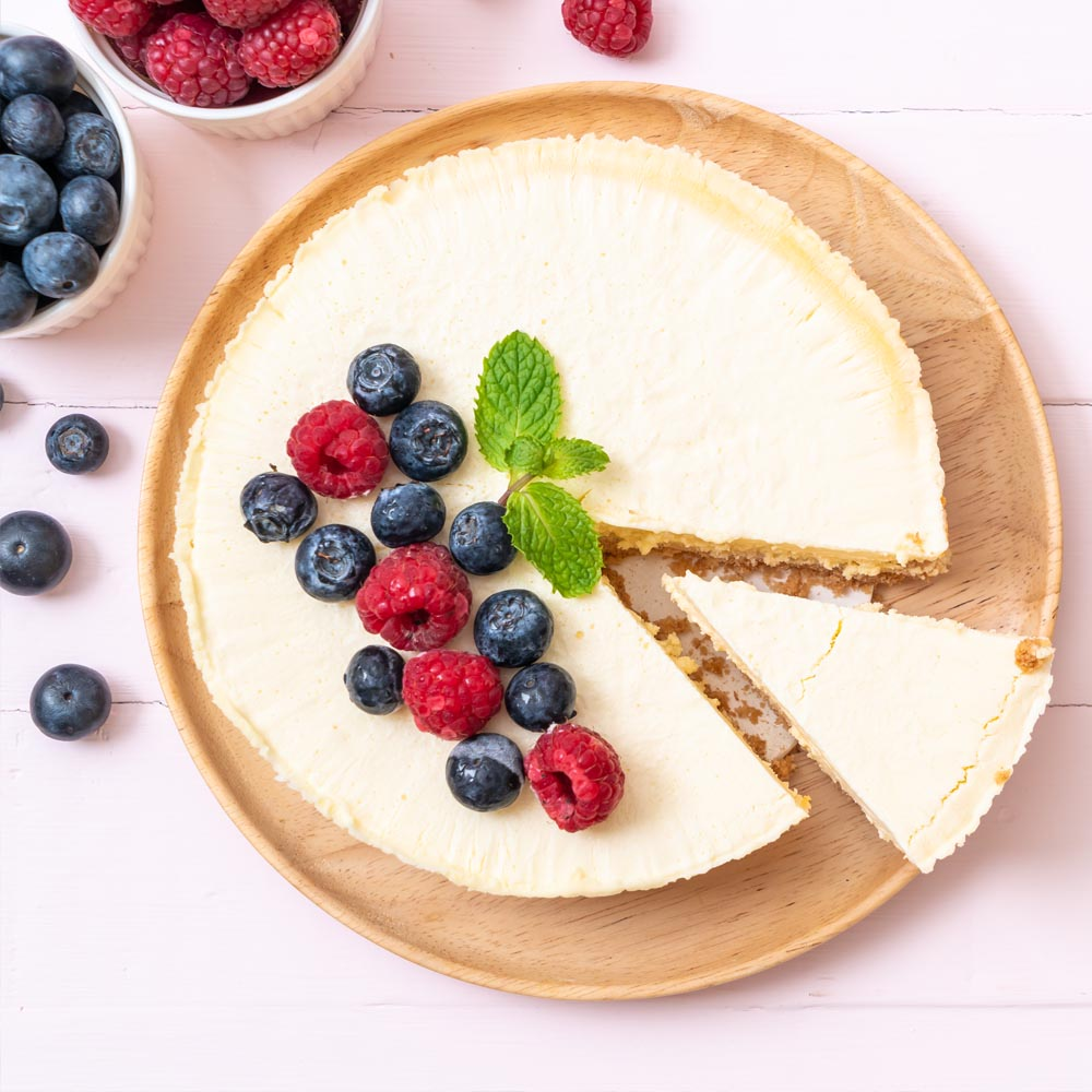 Cheesecake de style new-yorkais