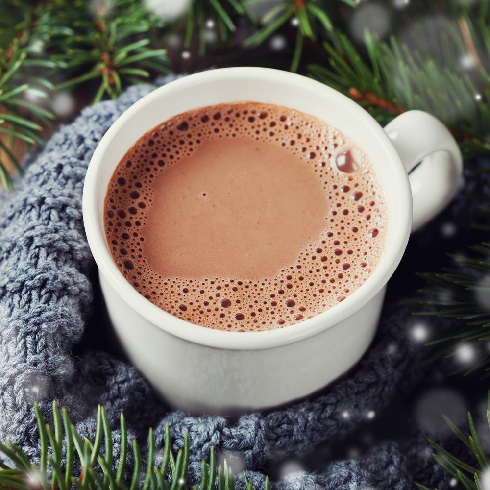 Cacao chaud riche et crémeux