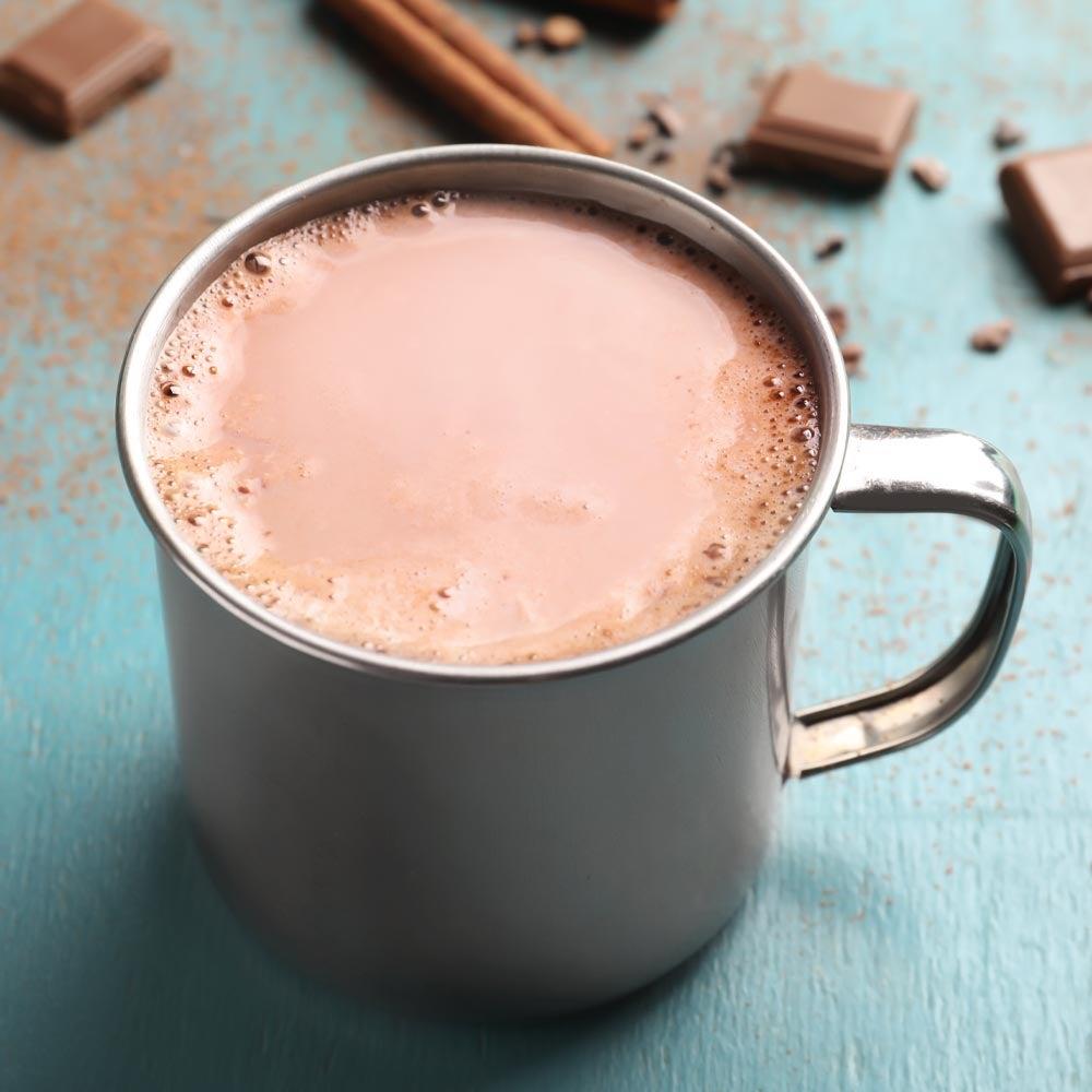 Latte au cacao épicé