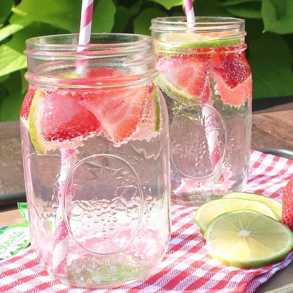 Soda aux fraises