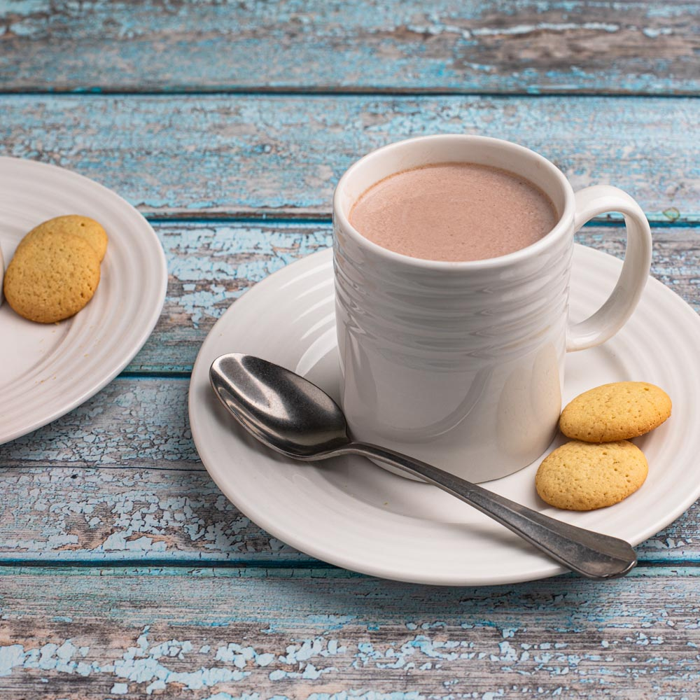 Chocolat chaud sucré