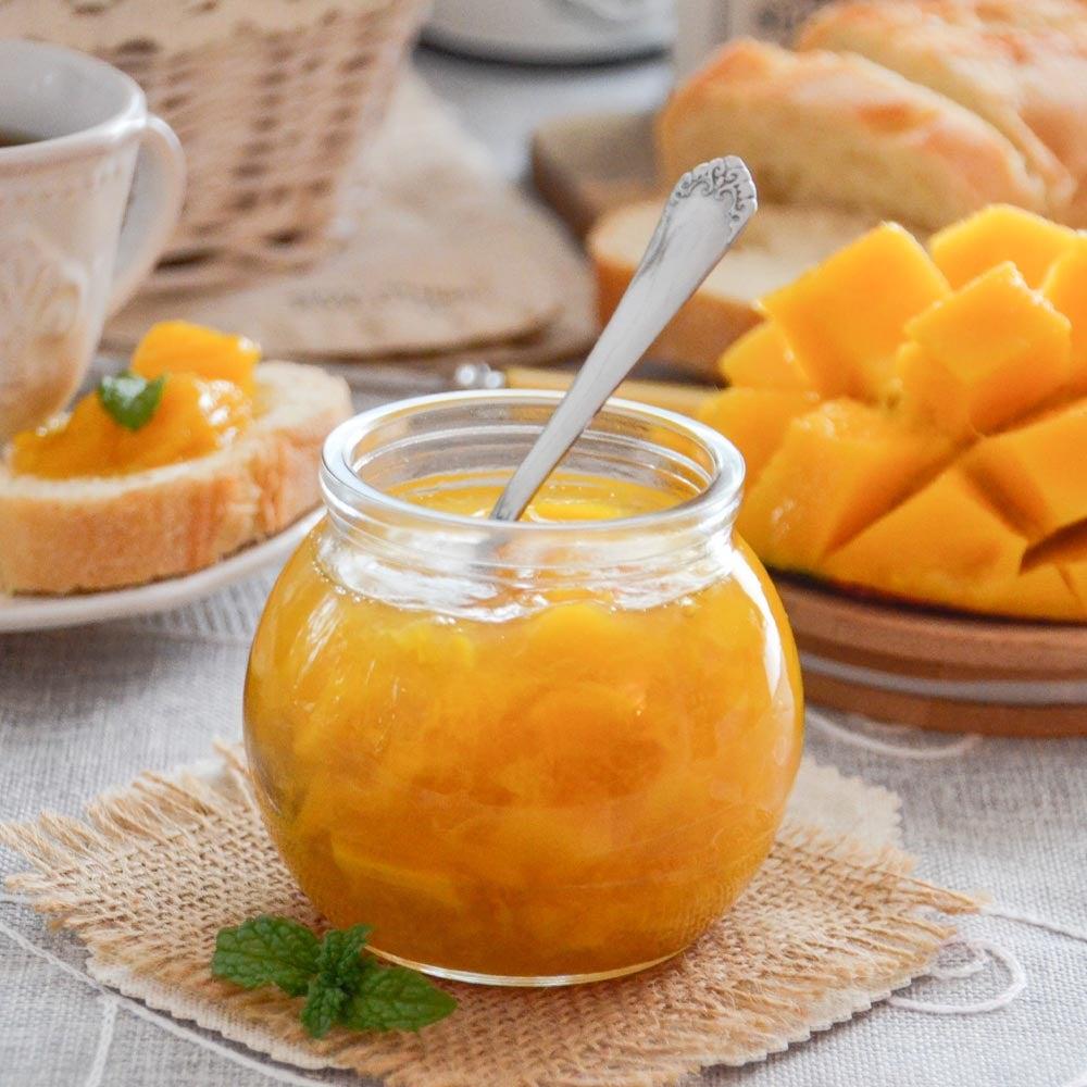 Confiture de fruits tropicaux