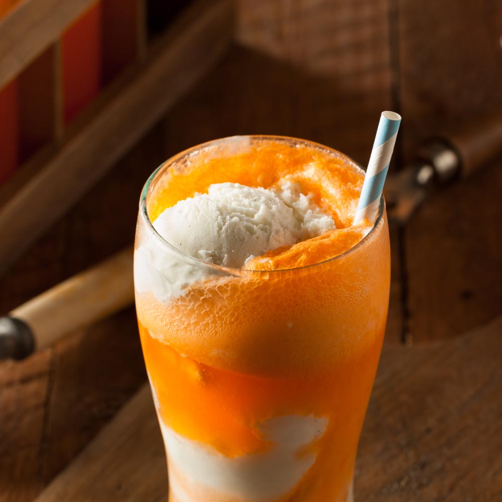 Vanille-Orange KOOL-AID® Yaourt Flottant