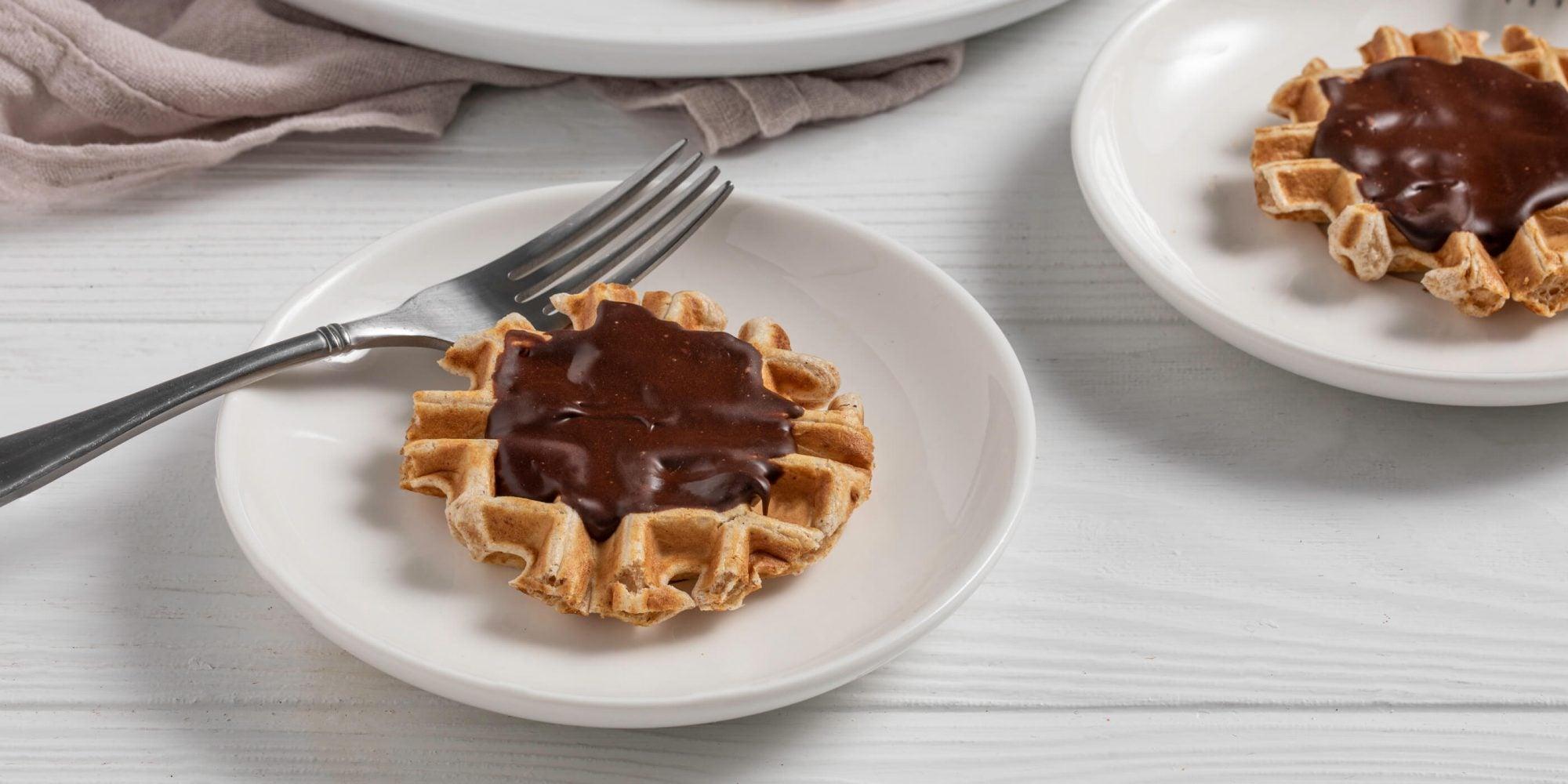 Chocolate-Glazed Wonut