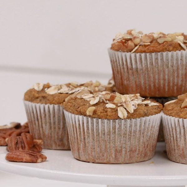 Muffins à la courge musquée épicés