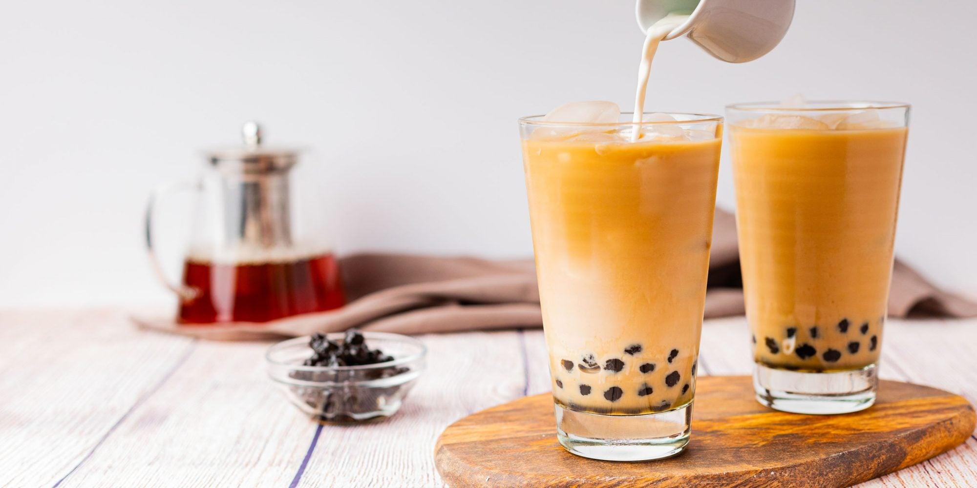 Vanilla Bubble Tea