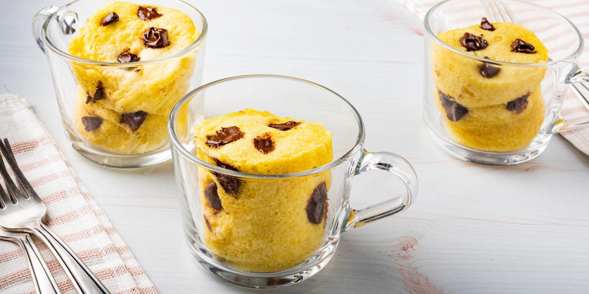 Keto Chocolate Chip Cookie Mug Cake