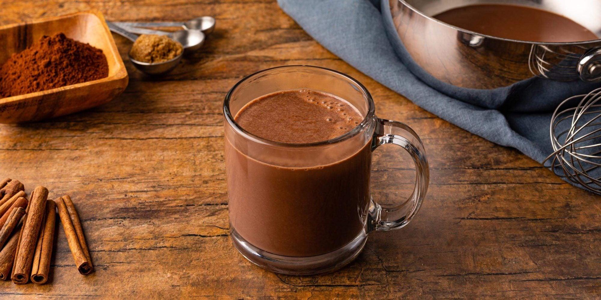 Gingersnap Hot Cocoa