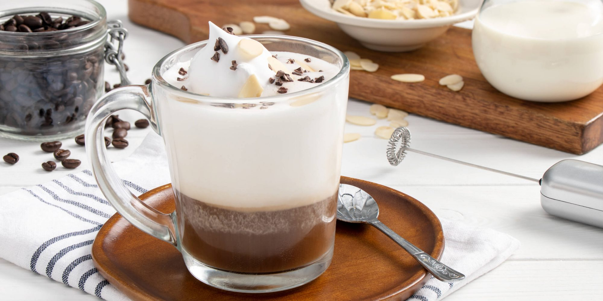 Coconut and Almond Latte