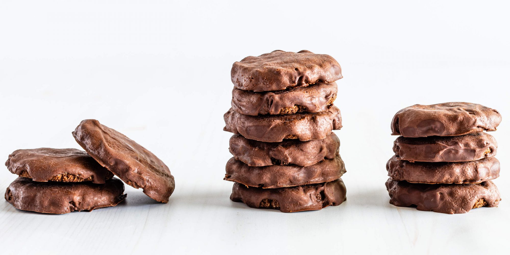 Keto Chocolate Covered Mint Cookies