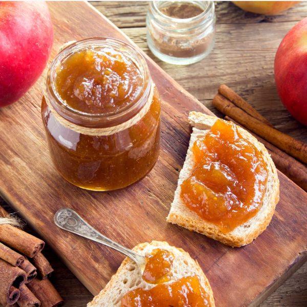 Beurre de pomme fait maison