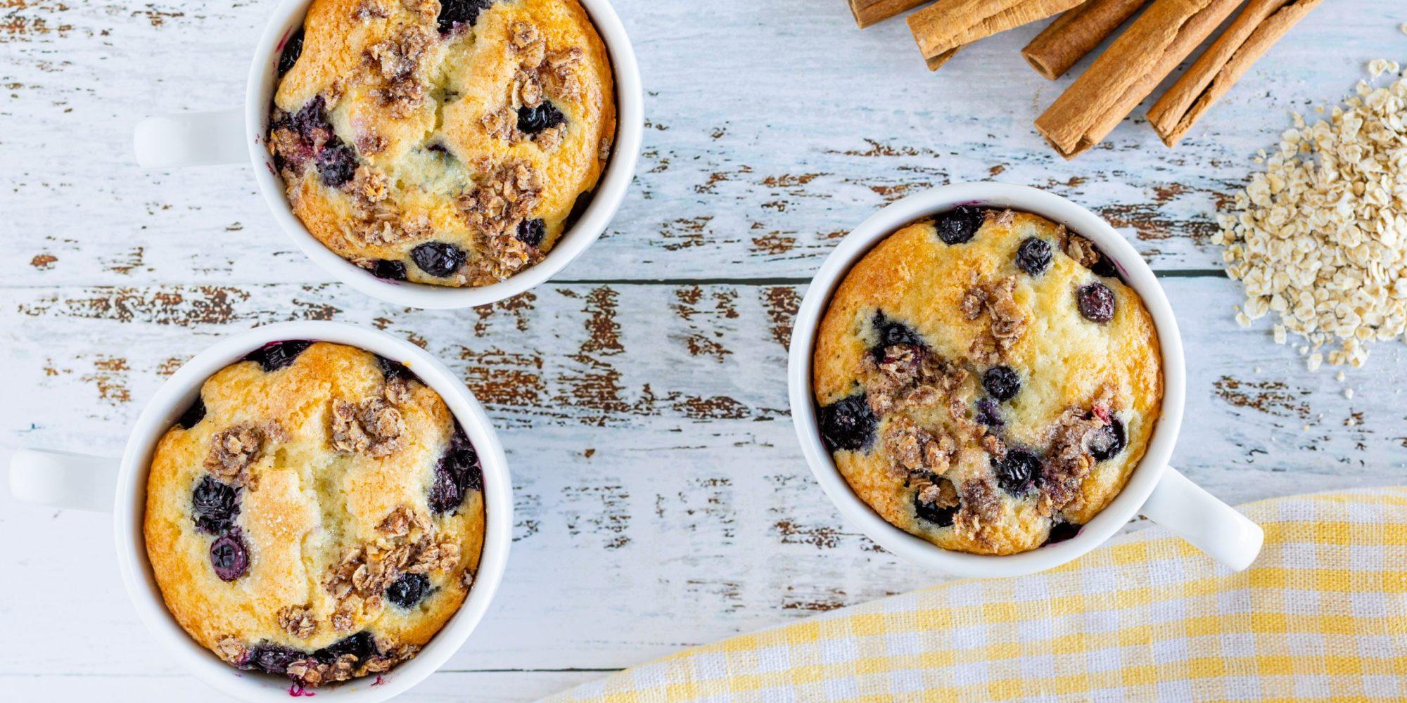 Blueberry Mug Muffin